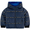 Reversible Puffer Jacket - Navy Blue