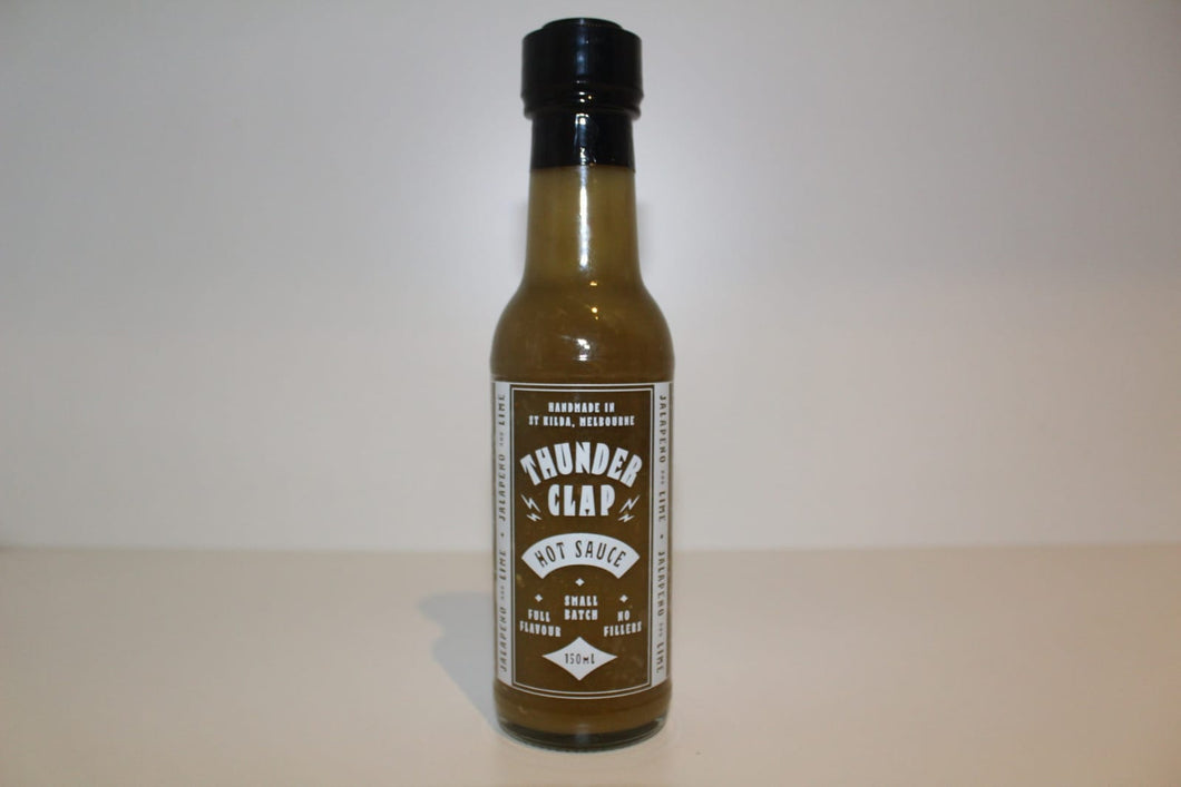 Jalapeno-Lime Hot Sauce by ThunderClap