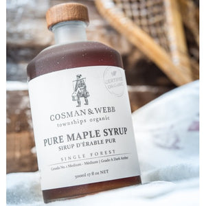 Cosman & Webb Organic Unblended Maple Syrup 500 ml