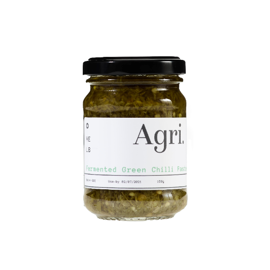 Fermented Green Chilli Paste by Agri Produce
