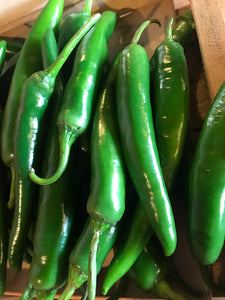 Long Green Chillies