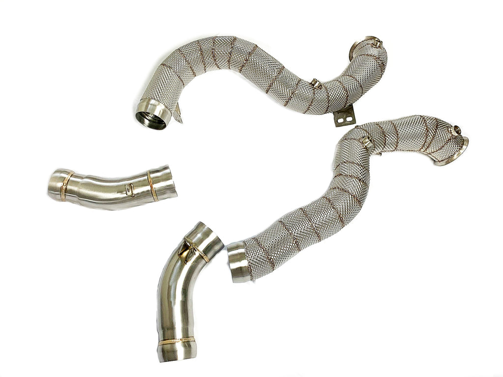 M177 GLC63 Performance Downpipes