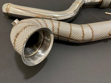 Load image into Gallery viewer, Mercedes Benz CLA45 GLA45 A45 AMG Downpipes