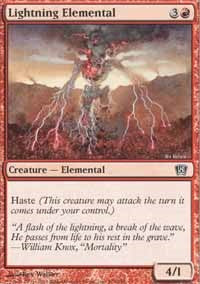 Lightning Elemental [Eighth Edition] | Journey's End Games