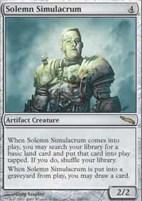Solemn Simulacrum [Mirrodin] | Journey's End Games