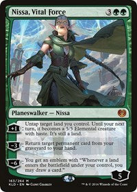 Nissa, Vital Force [Kaladesh] | Journey's End Games