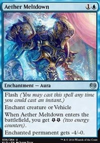 Aether Meltdown [Kaladesh] | Journey's End Games