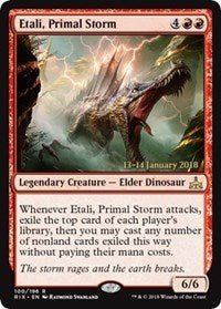 Etali, Primal Storm [Rivals of Ixalan Promos] | Journey's End Games