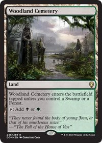 Woodland Cemetery [Dominaria] | Journey's End Games