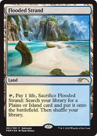 Flooded Strand [Nationals Promos] | Journey's End Games