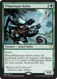 Whiptongue Hydra [Commander 2018] | Journey's End Games
