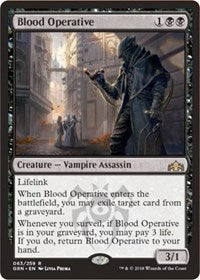 Blood Operative [Guilds of Ravnica] | Journey's End Games
