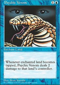 Psychic Venom [Fifth Edition] | Journey's End Games