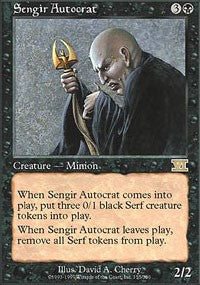 Sengir Autocrat [Classic Sixth Edition] | Journey's End Games