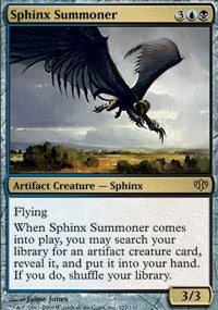 Sphinx Summoner [Conflux] | Journey's End Games