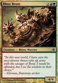 Rhox Brute [Alara Reborn] | Journey's End Games