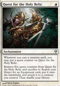 Quest for the Holy Relic [Zendikar] | Journey's End Games