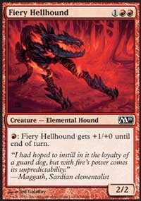Fiery Hellhound [Magic 2011] | Journey's End Games