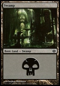 Swamp (60) [Duel Decks: Garruk vs. Liliana] | Journey's End Games