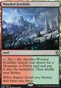 Wooded Foothills [Khans of Tarkir] | Journey's End Games