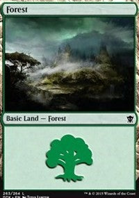 Forest (263) [Dragons of Tarkir] | Journey's End Games