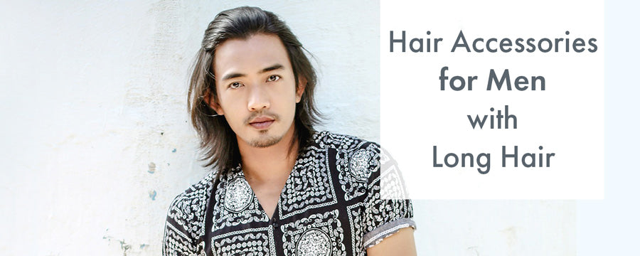 hair accessories for men with long hair