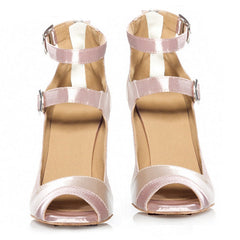 eazyfits Classic Beige Dancing Shoes for Women 75cm Heel