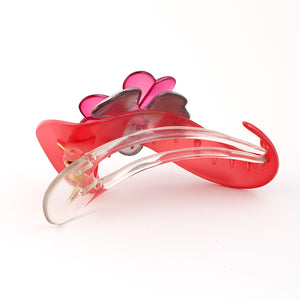 French Pink Plastic Beak Clip