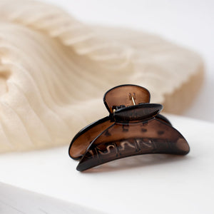 Small Curved Tortoise Hair Claws