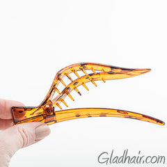 Large Open Rhombus Beak Salon Clip