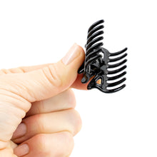 Load image into Gallery viewer, Small Unisex Black Hair Claws - Pair