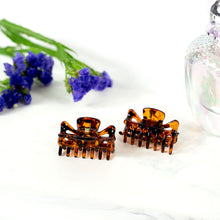 Load image into Gallery viewer, Small Unisex Tortoise Hair Claws - Pair