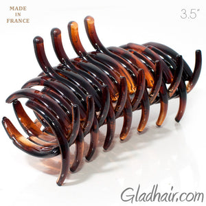 French Full Tuba Rake Tortoise Plastic Claw