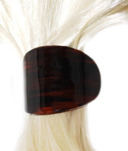Deluxe Automatic Ponytail Holder in Tortoise Shell