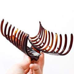 Large Sausage Shape Plastic Hair Claw