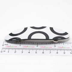 Black and White Design Barrette