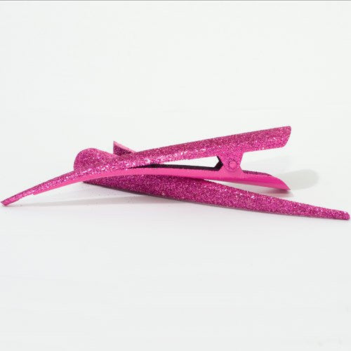 Large Glitter Beak Clips - Pair