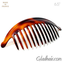 Load image into Gallery viewer, French Extra Large Interlocking Comb Pony Tortoise Shell - 1 Piece