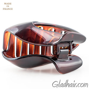 French Tortoise Shell Hair Claw