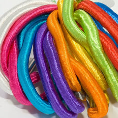 Shiny Bright Elastics - Pack of 18