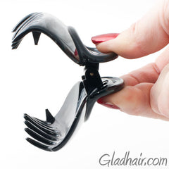 French Plastic Hair Claw