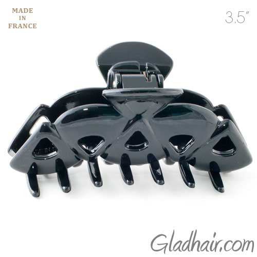 French Plastic Triangles Hair Claw