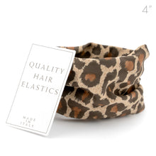 Load image into Gallery viewer, Italian Made Leopard Print Hair Elastic