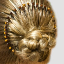 Load image into Gallery viewer, Spring Headband (Flexi Comb) with Faux Beads