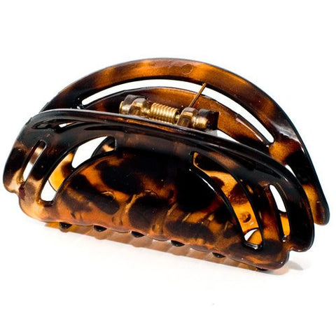 Tortoise Plastic Hair Clamp