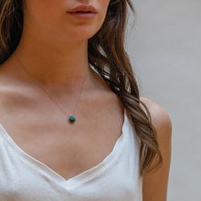 Load image into Gallery viewer, Wanderlustlife Chrysocolla Fine Cord Necklace
