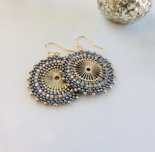 Load image into Gallery viewer, Envy 'Masai' Beaded Earrings