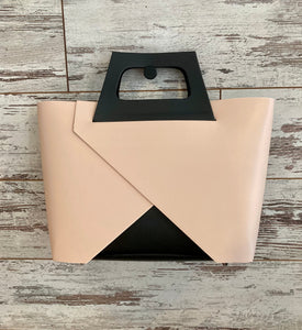 Italian Leather 'Origami' Bag