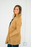Better With You Camel Cardigan