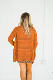 Better With You Marsala Cardigan